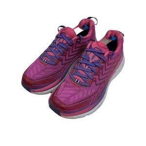 Hoka One One Neutral Clifton 4 pink Running Shoes